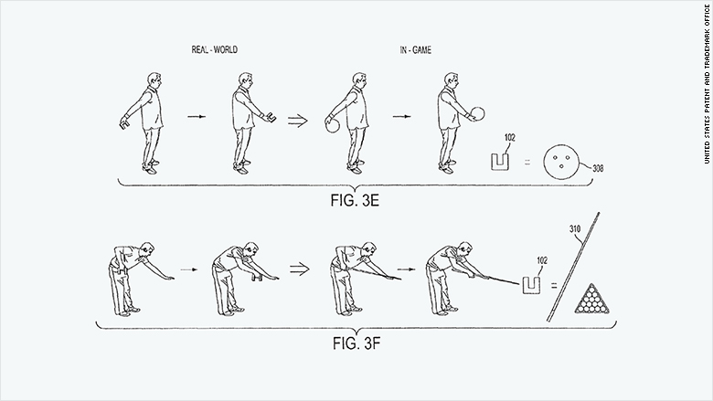 patent 2015 sony 3d objects