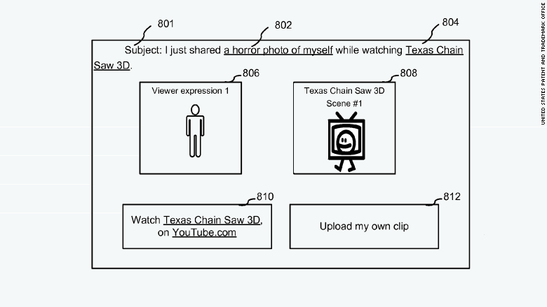 patent 2015 google capturing expressions