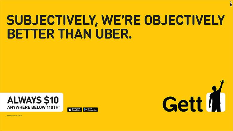 gett uber top
