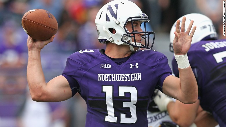 northwestern football union