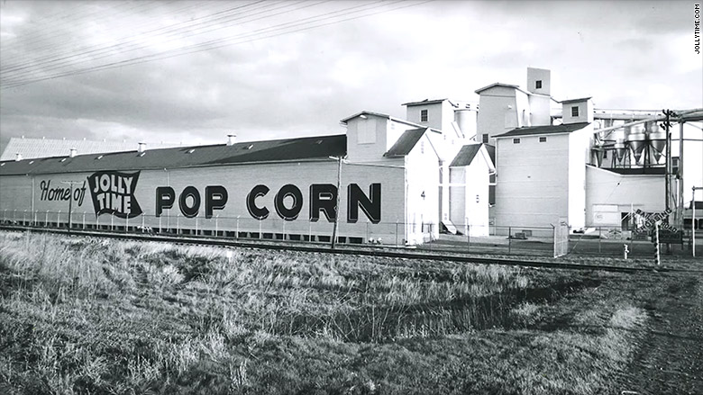 iowa manufacturing popcorn factory
