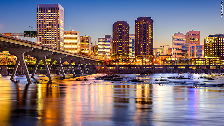 City Of Richmond Va >> Richmond, Va. - 10 best cities for small businesses - CNNMoney