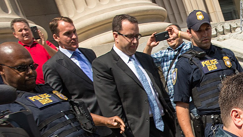 jared fogle guilty plea