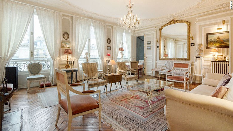 paris france top airbnb places for business travelers cnnmoney. Black Bedroom Furniture Sets. Home Design Ideas