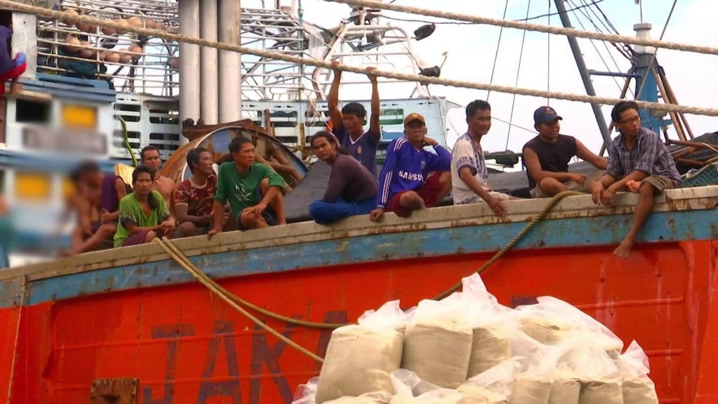 Thai fishermen not recognized as trafficking victims
