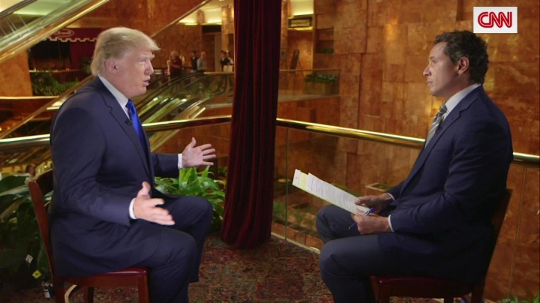 Donald Trump on immigration: 'I have to do the right thing ...