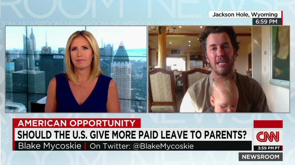 Should the U.S. give more paid leave to parents?