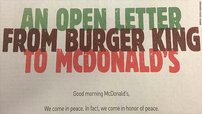 burger king mcdonalds mcwhopper