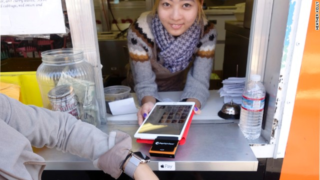 Apple Pay is coming to a food truck near you