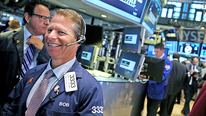 stocks rebound happy trader 2
