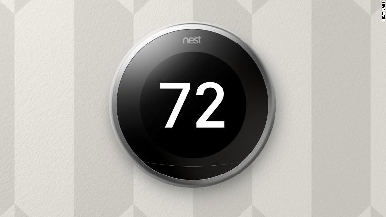 Nest Thermostat Current Room Temperature