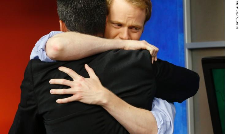 wdbj newsroom hug