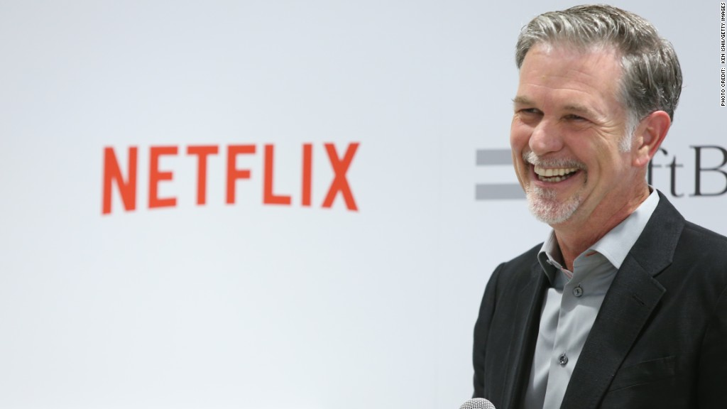Netflix CEO: We're focusing on great shows