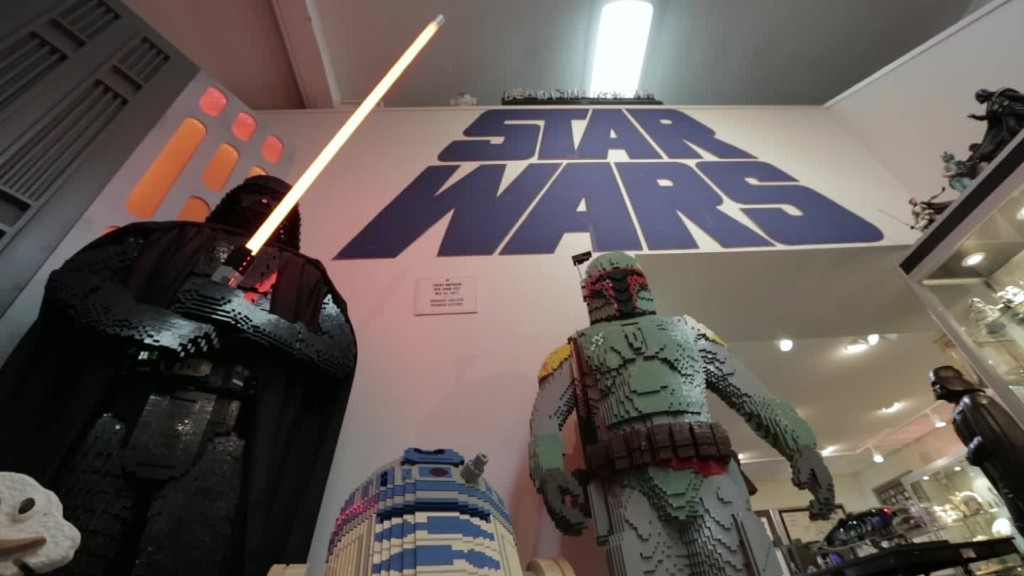 The world's biggest 'Star Wars' collection