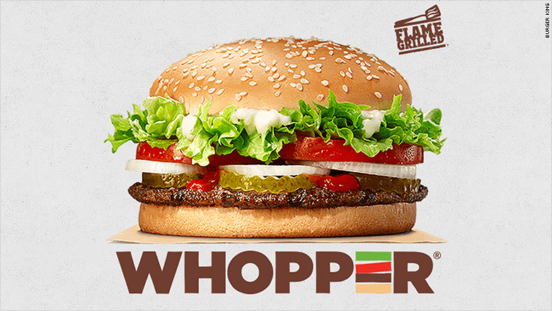 Burger King, Wendy's and McDonald's in fast food price war