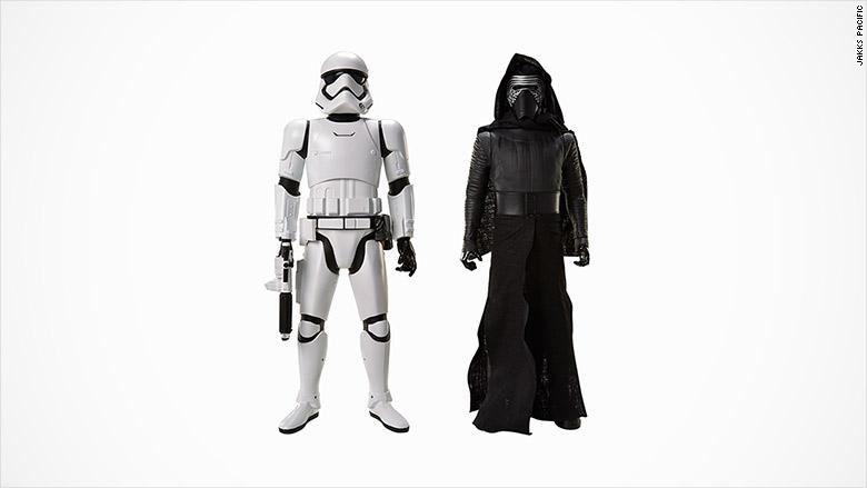 Kylo Ren And Stormtrooper Big Figures Force Friday