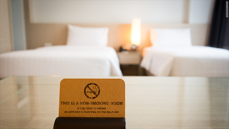 no smoking hotel