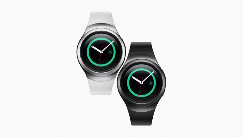 Samsung gear S2 sports colors