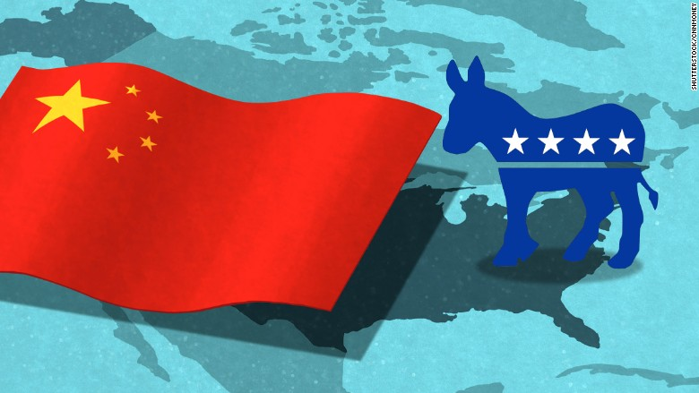 china sink democratic hope