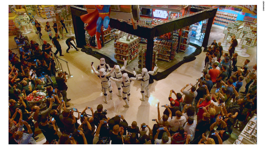 Star Wars fans go crazy for Force Friday