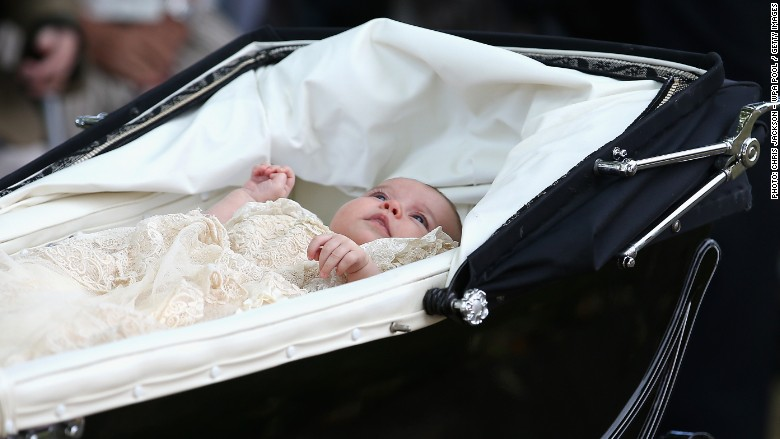 Princess Charlotte pram