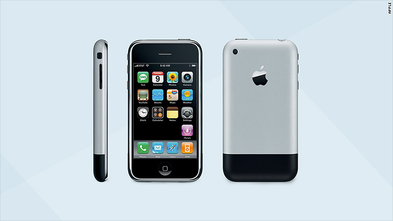 iPhone - 2007 - The iPhone through the years