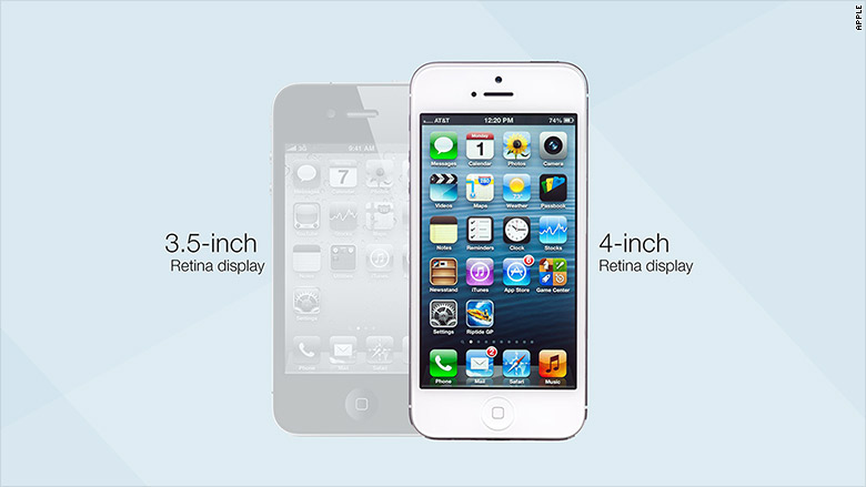 iphone through the years iphone 5 2012 the iphone through the years cnnmoney 7734