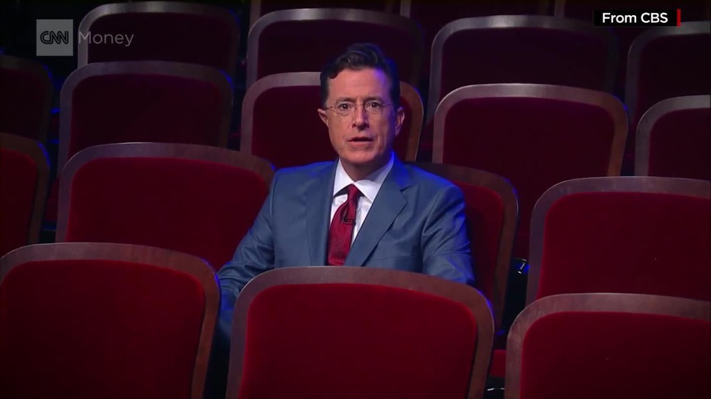 Stephen Colbert joins the late night primary