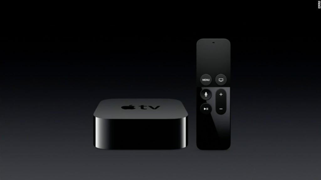 See the new Apple TV in :90
