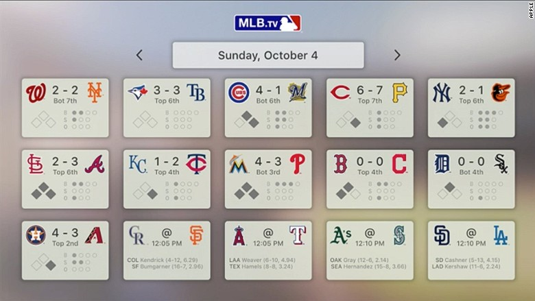 apple announcement apple tv mlb