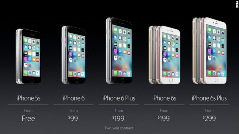 apple announcement iphone pricing