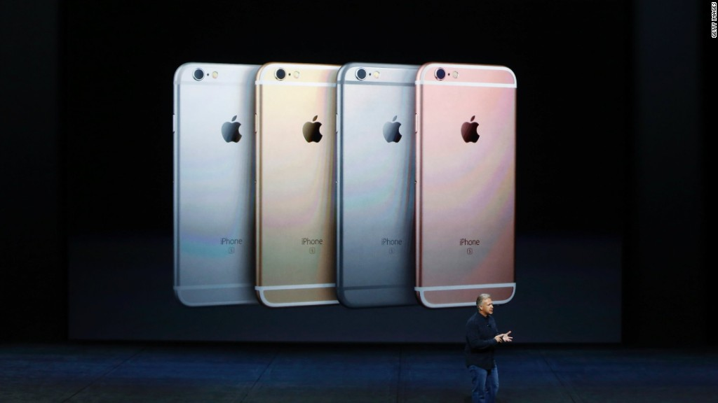 Apple's iPhone 6S, iPhone 6S Plus in :90