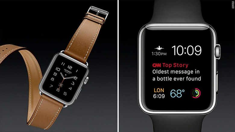 apple announcement iwatch split