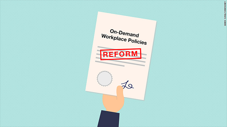 on demand workplace policies 2