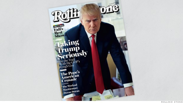 Thumbnail for Donald Trump insults Carly Fiorina in Rolling Stone: 'Look at that face!'