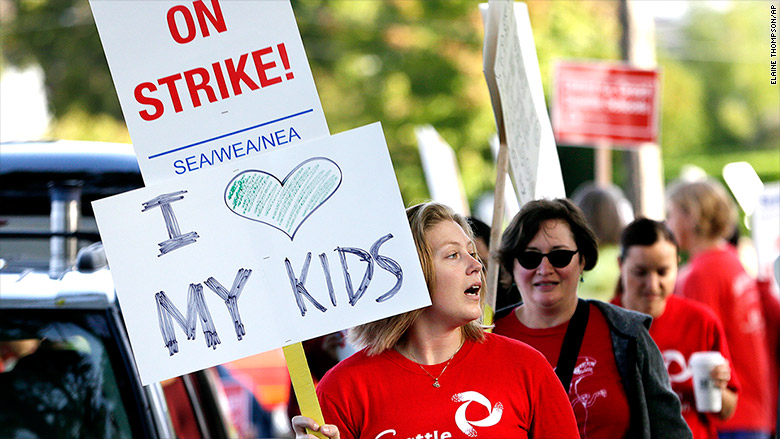 washington teachers strikes