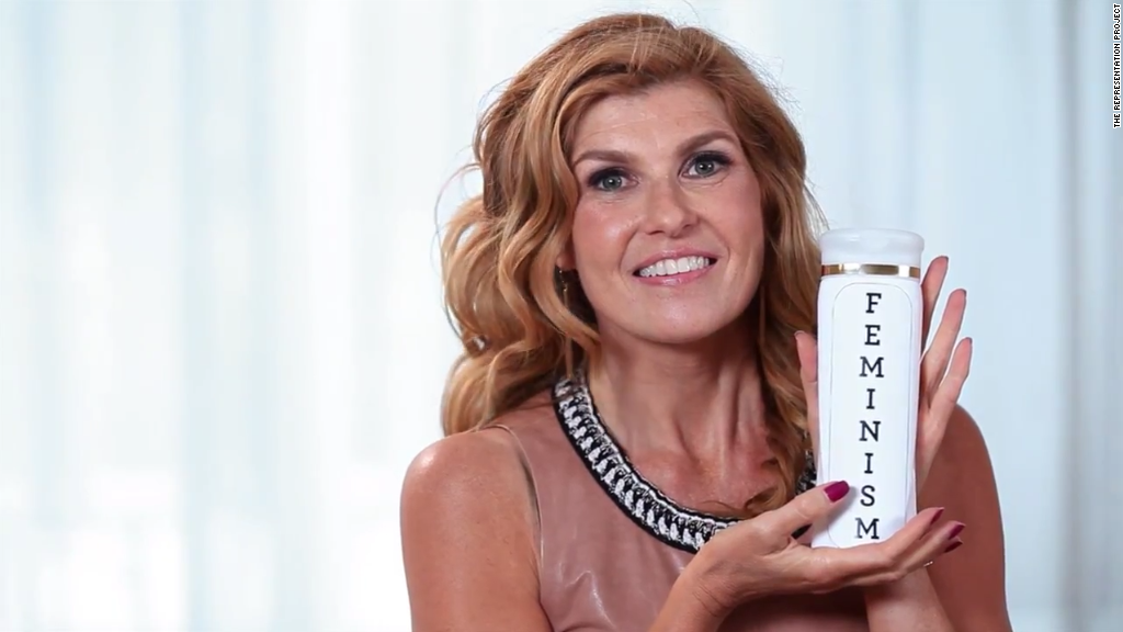 Connie Britton video spoofs her great hair