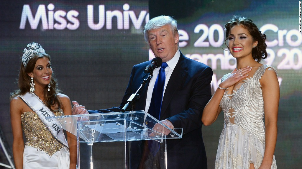 Miss Universe now entirely owned by Donald Trump