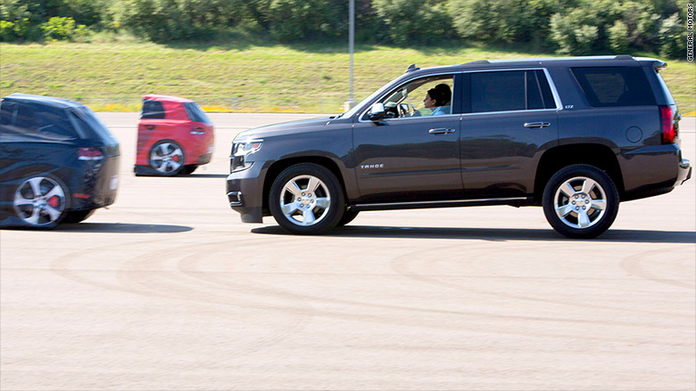 chevrolet tahoe automatic braking