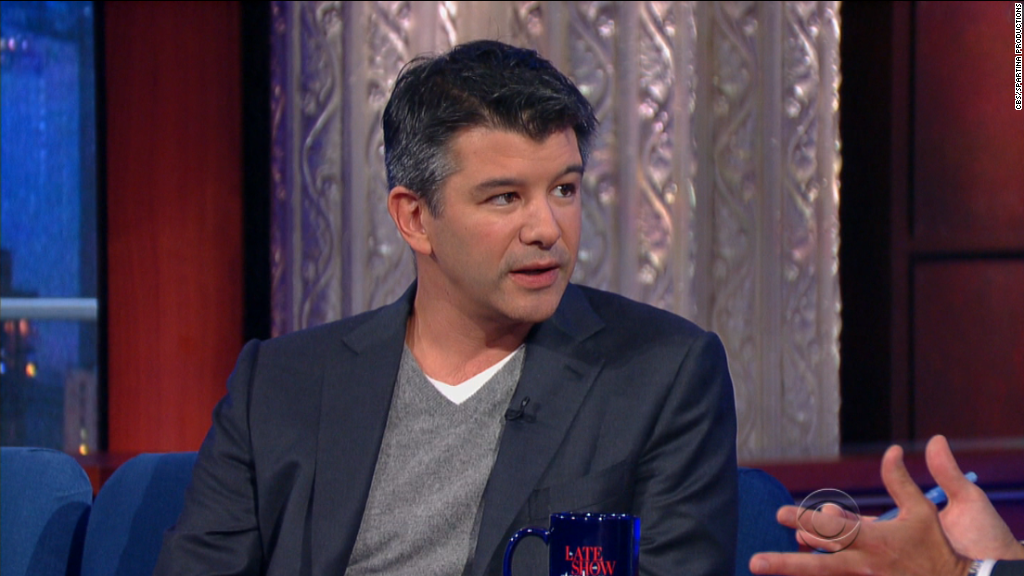 CEO defends Uber on 'The Late Show'