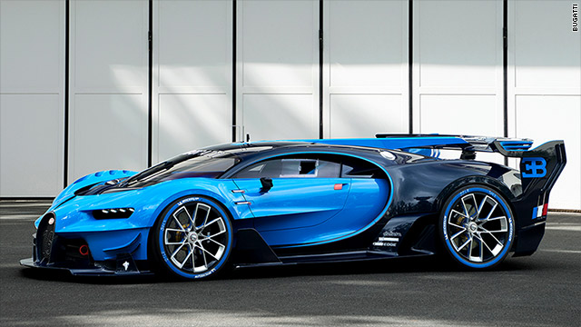 Bugatti Shows Real Life Videogame Car