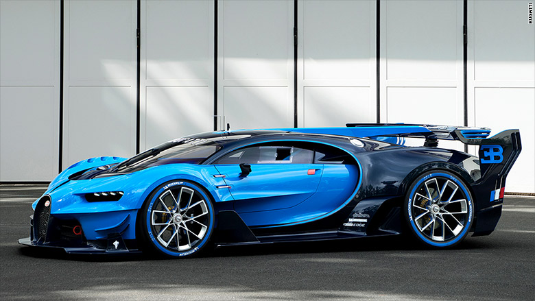 Bugatti shows real-life videogame car
