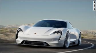 porsche electric car mission e 1