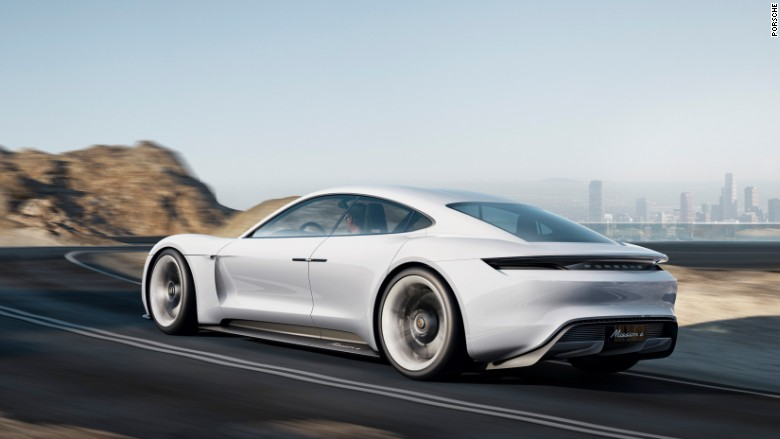 porsche electric car mission e 3