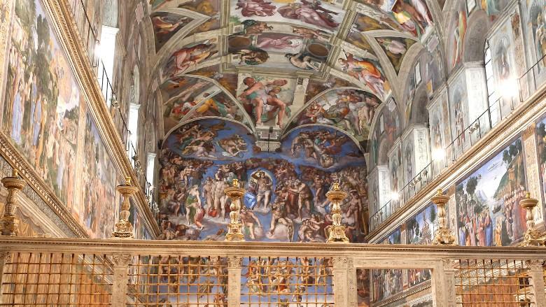 Sistine Chapel Pope Francis Vatican