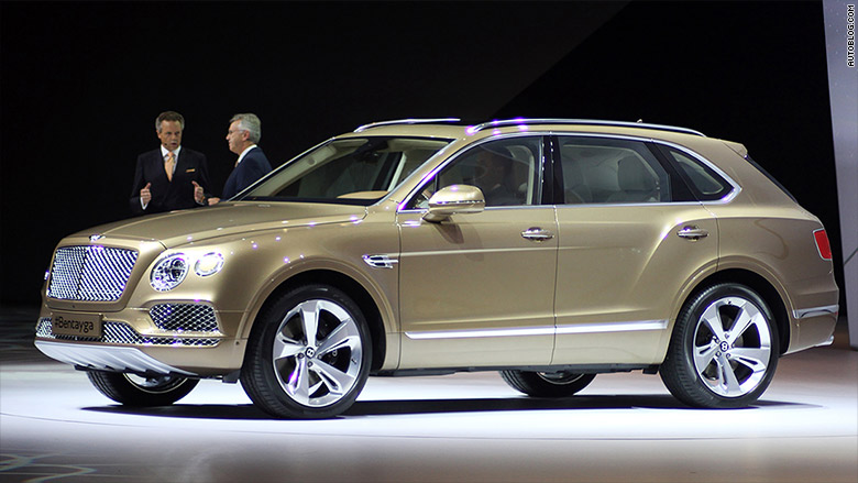 Bentley Bentayga 10 Cool Cars From The Frankfurt Motor