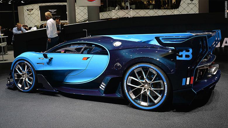 Bugatti Vision Grand Turismo 10 Cool Cars From The