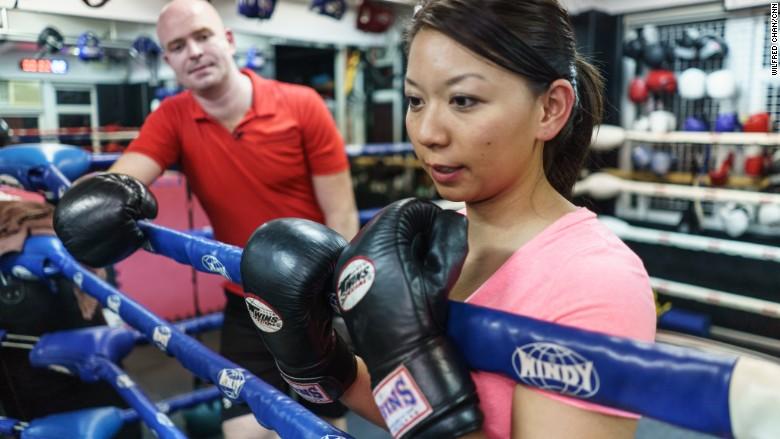 sophia yan boxing 2