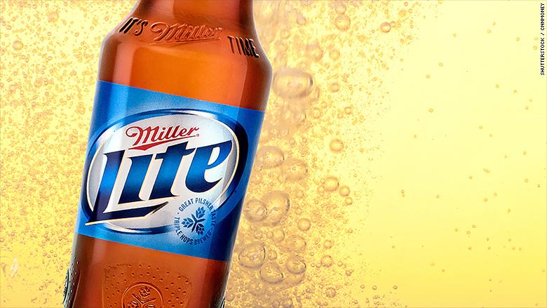 beer companies millerlite