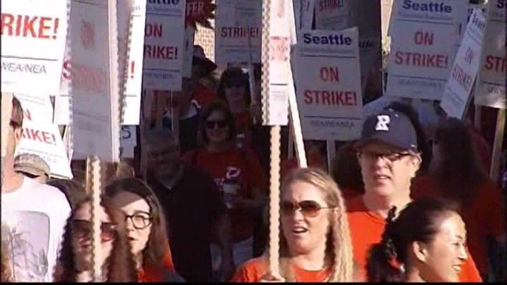 Seattle teachers' strike ends
